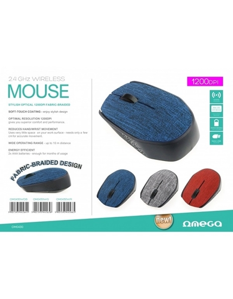 Picture of Omega Optical Wireless Mouse 430